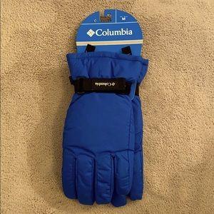 NWT Columbia Youth Gloves Size Medium Blue